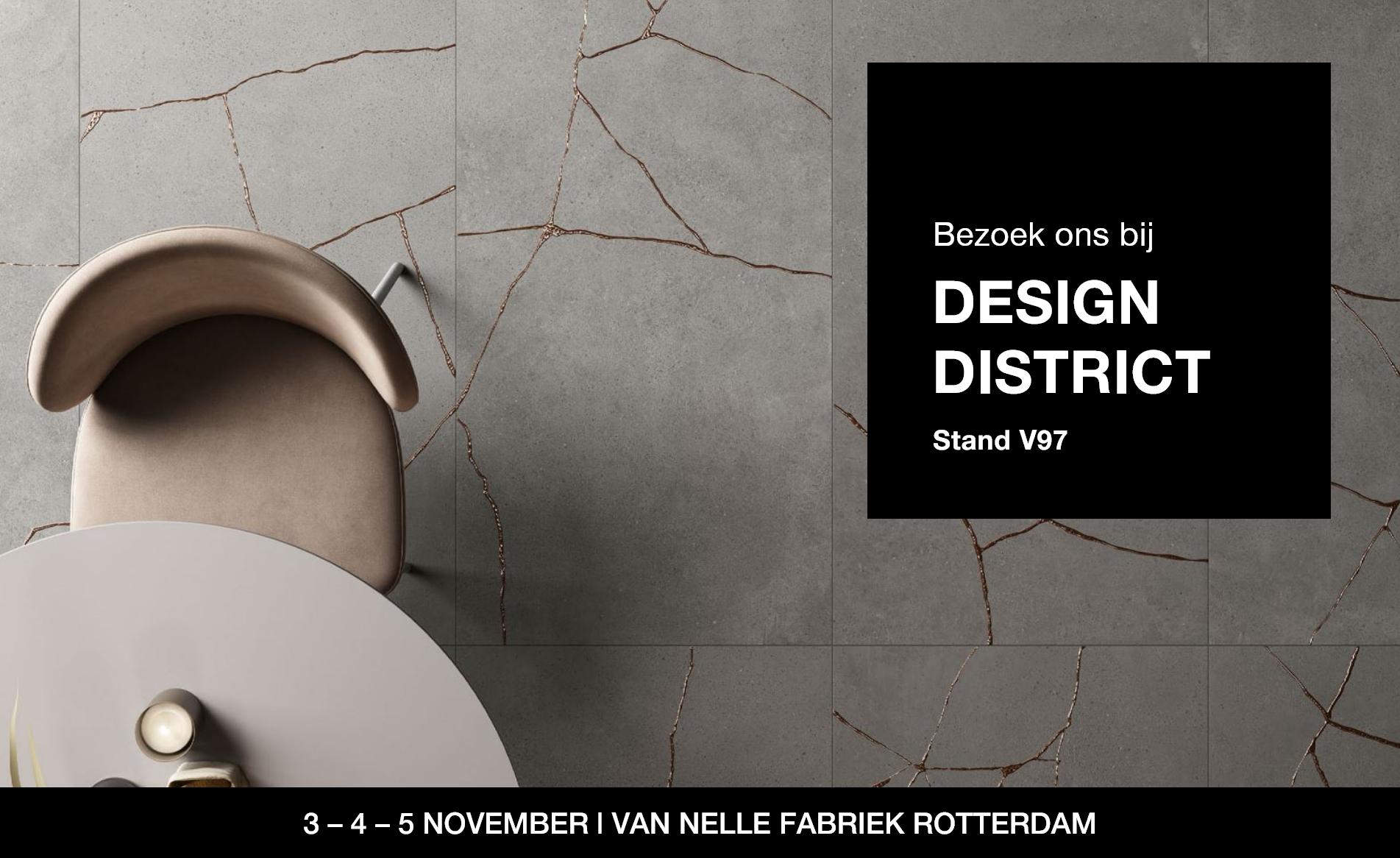 Bezoek ons bij Design District 2021